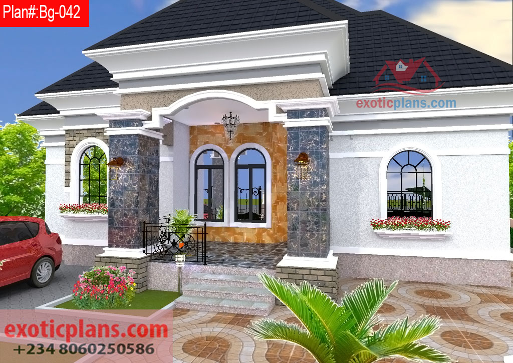 Floor Plan 4 Bedroom Bungalow House Plans In Nigeria Joeryo Ideas